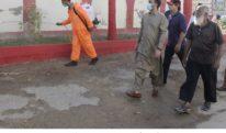 کورونا وائرس سے بچاو کیلئے بلدیہ شرقی کا جراثیم کش ادویات کے چھڑکاو کا عمل جاری