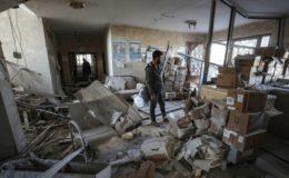 اسد رجیم اور اس کے اتحادیوں پر اسپتال اور اسکولوں پر وحشیانہ حملوں کا الزام