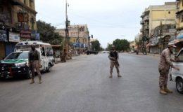 کراچی سمیت سندھ بھر میں 3 گھنٹوں کیلیے مکمل لاک ڈاؤن