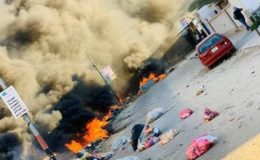 لیبیا میں نوجوان کی ہلاکت کے بعد حکومت کے خلاف پرتشدد مظاہرے پھوٹ پڑے