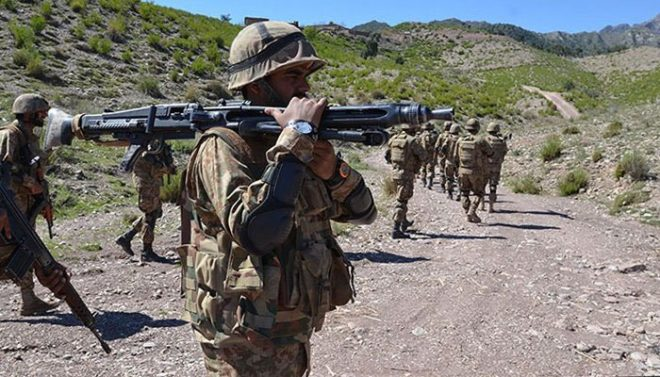 شمالی وزیرستان میں فورسز کا آپریشن، 9 دہشت گرد ہلاک، دو سپاہی بھی شہید