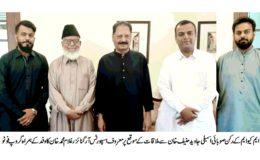 رکن صوبائی اسمبلی جاوید حنیف خان کا کورنگی گولڈ کپ شوٹنگ بال چمپئن شپ کے انعقاد کا اعلان
