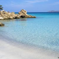 Italien Sardinien Sandstrand