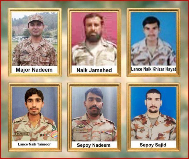 بلوچستان میں پاک فوج پر دہشتگردوں کا حملہ، ایک افسر سمیت 6 اہلکار شہید