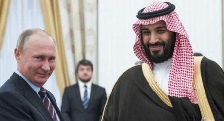 سعودی ولی عہد اور روسی صدر کے درمیان عالمی توانائی مارکیٹ پر بات چیت