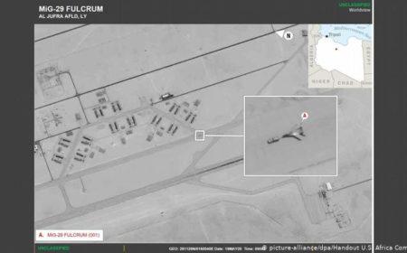 امریکی فوج: روس نے لڑاکا طیارے لیبیا منتقل کر دیے