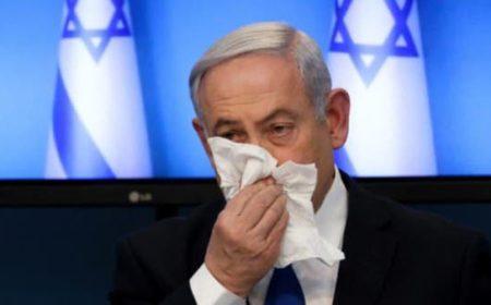 اسرائیلی وزیراعظم نیتن یاھو اور دو وزرا کا کرونا کا شکار ہونے کا شبہ