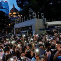 Hong Kong Demonstrationen