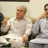 Imran Khan - Shah Mehmood Qureshi