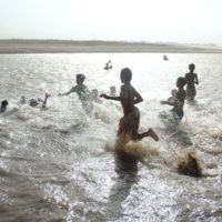 Indus River - Children Drowning