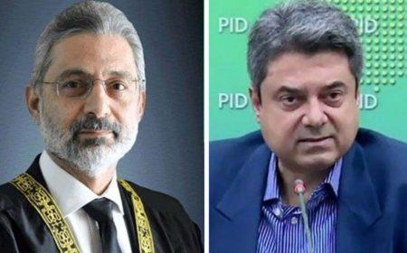 صدارتی ریفرنس: جسٹس قاضی فائز کے وکلاء کا فروغ نسیم کے پیش ہونے پر اعتراض