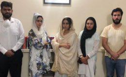 ماڈل عظمیٰ خان نے کاروباری شخصیت کی بیٹیوں کیخلاف دائر مقدمہ واپس لے لیا