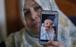 فلسطینیوں کا اسرائیل سے قطع تعلق، آٹھ ماہ کے بچے کی موت