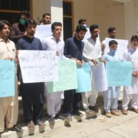 Pakistan Tribal Youth Forum Protest