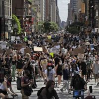 Protest in New York