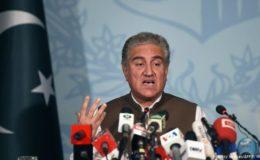 بھارت کی پاکستانی سر زمین پر ممکنہ 'غلط مہم جوئی' خطرناک ہو گی، شاہ محمود قریشی