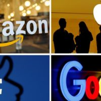 Amazon, Facebook, Apple and Google