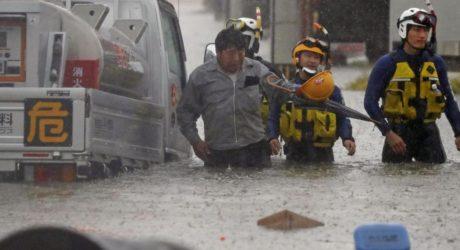جاپان: سیلاب اور لینڈ سلائیڈنگ کے نتیجے میں ہلاکتوں کی تعداد 56 تک پہنچ گئی