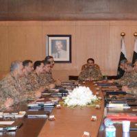 Pakistan Corps Commanders Conference