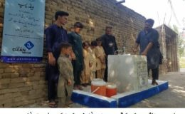 الخدمت فاؤنڈیشن پاکستان 24 لاکھ افراد کو روزانہ صاف پانی مہیا کر رہی ہے۔ حامد اطہر ملک
