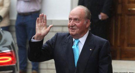 سابق ہسپانوی بادشاہ کارلوس ملک سے پراسرار رخصتی کے بعد لاپتا