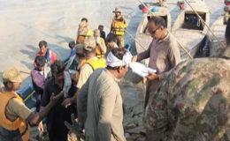 شدید بارشوں سے نائی گج ڈیم میں شگاف، پاک فوج کی علاقے میں امدادی کارروائیاں جاری