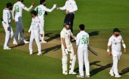 ساوتھمپٹن؛ پاکستان اور انگلینڈ کا دوسرا ٹیسٹ میچ بے نتیجہ ختم