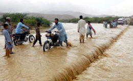 ملک کے مختلف حصوں میں شدید بارشیں، جوہی کے ندی نالوں میں طغیانی، کئی دیہات زیر آب