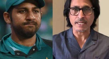 رمیز راجہ نے سرفراز احمد کو ٹیسٹ کرکٹ سے ریٹائرمنٹ کا مشورہ دے دیا