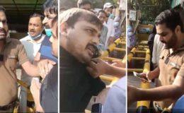 لاہور: فارن منسٹری کیمپ آفس میں ڈاکٹر سے بدسلوکی کرنیوالے پولیس اہلکار گرفتار