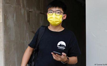 ہانگ کانگ: جمہوریت نواز جوشوا وونگ گرفتار