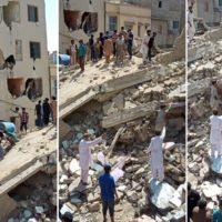 Karachi Building Fall