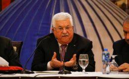 محمود عباس کا مسئلہ فلسطین کے حل کے لیے عالمی کانفرنس بلانے کا مطالبہ