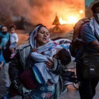 Moria Camp Refugees