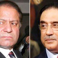 Nawaz Sharif - Asif Ali Zardari