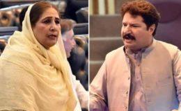 کے پی اسمبلی: پی ٹی آئی ایم پی اے اور پی پی کی خاتون رکن کے درمیان شدید تلخ کلامی