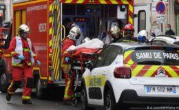 پیرس میں چاقو سے حملے، کئی زخمی