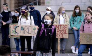 کورونا وائرس لاک ڈاؤن کے بعد پہلی 'ماحولیاتی ہڑتال'، تبصرہ