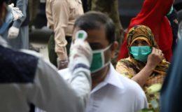 پاکستان میں کورونا مثبت آنے کی شرح میں مسلسل اضافہ