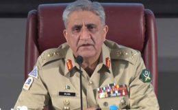 مولانا عادل کا قتل پاکستان دشمنوں کی جانب سے امن خراب کرنے کی کوشش ہے: آرمی چیف
