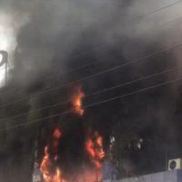 Lahore Market Fire