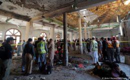 پشاور میں مدرسے کے اندر دھماکے سے بچوں سمیت 8 افراد شہید، 110 زخمی