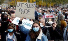 استاد کا سر قلم کیے جانے کا واقعہ، فرانس میں مسجد بند