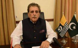 جس کا جینا مرنا پاکستان کیساتھ ہو اسے بھی غداروں میں شامل کر لیا گیا: وزیراعظم آزاد کشمیر