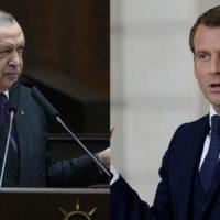Tayyip Erdogan - Manuel Macron