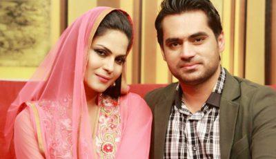 Asad Khattak and Veena Malik