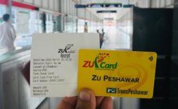 بی آر ٹی پشاور کے سفری کارڈ کی قیمت بڑھا دی گئی