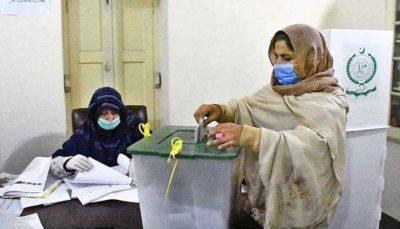Gilgit-Baltistan,Elections Voting