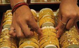 عالمی منڈی سمیت پاکستان میں بھی سونے کی قیمت کم ہو گئی