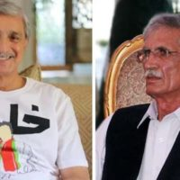 Jahangir Tareen and Pervez Khattak